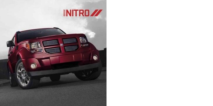 2012 Dodge Nitro eBrochure