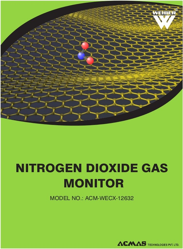 Nitrogen Dioxide Gas Monitor by ACMAS Technologies Pvt Ltd.