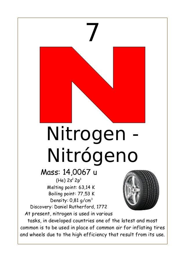 Nitrogeno carlos sanchez