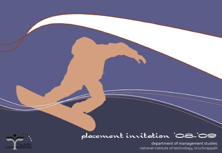 Nittdoms Placement Brochure2008 09