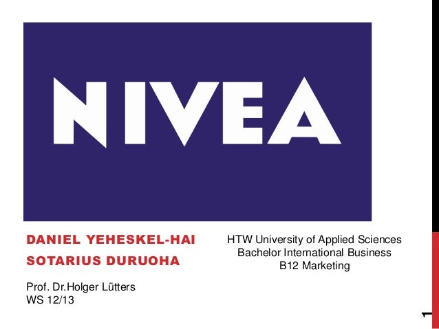 NIVEADANIEL YEHESKEL-HAI       HTW University of Applied Sciences                           Bachelor International Busines...