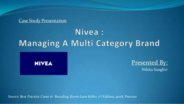 nivea managing a brand portfolio case study Case study on loreal managing the company's us operations was not an easy task commenting on the company's brand portfolio management strategies.
