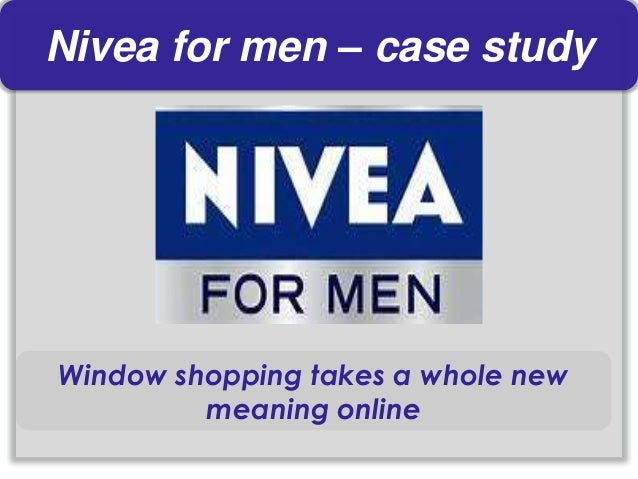 nivea business marketing case study Presntation on case study on nivea - authorstream presentation marketing plan : marketing plan it contains the following points- swot and competitive analysis – to assess where the business or brand is currently and what competitors are doing objectives – what the plan needs to achieve the marketing strategy – how the objectives will be achieved sales forecast – by how much sales are .