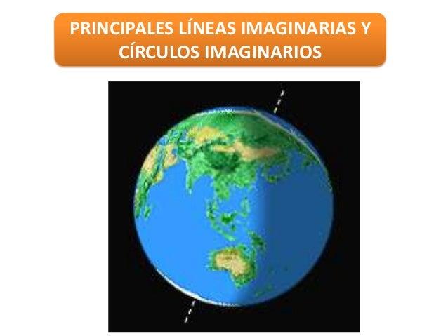 PRINCIPALES LÍNEAS IMAGINARIAS YCÍRCULOS IMAGINARIOS