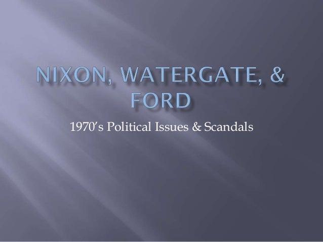 Nixon watergate-ford