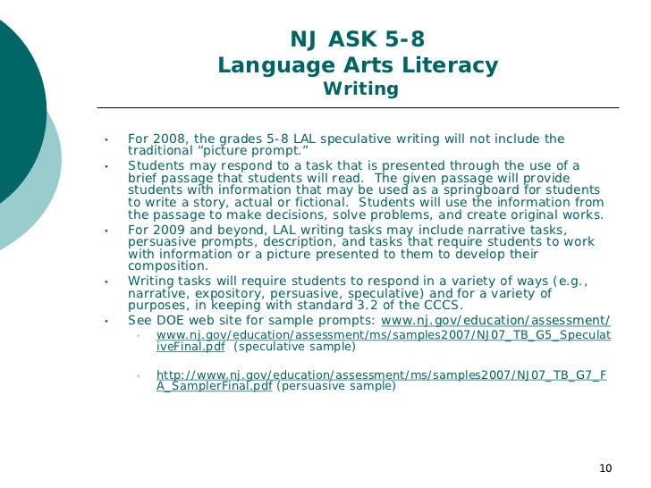 nj holistic scoring rubric for essay writing Ela/literacy scoring rubrics are tools for scoring students' written responses  these scoring rubrics have been updated as of july 2015 follow the link below.