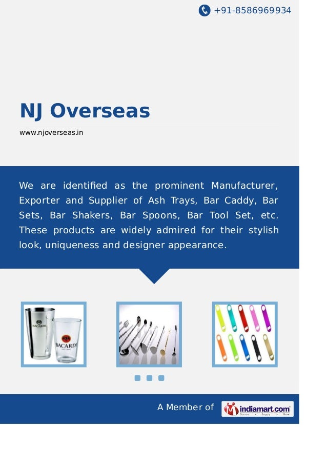 +91-8586969934 A Member of NJ Overseas www.njoverseas.in We are identified as the prominent Manufacturer, Exporter and Supp...