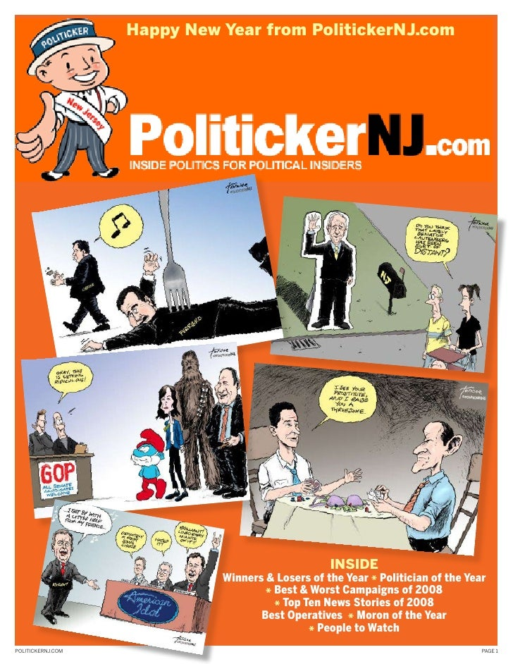 Happy new Year from PolitickernJ.com                                                       InsIde                         ...