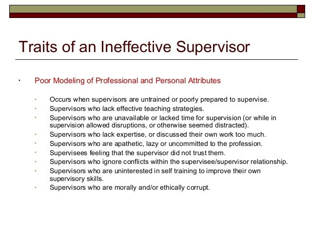 qualities good supervisor Topic:what are some important qualities of a good supervisor (boss) use specific details and examples to explain why these qualities are important.
