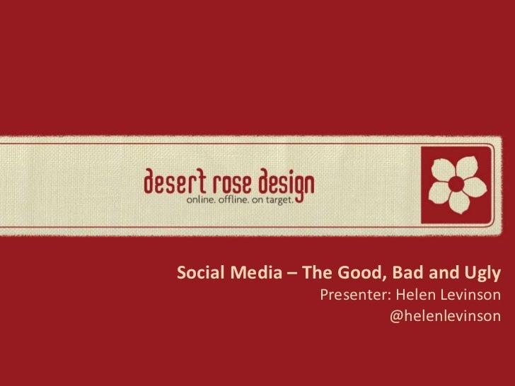 New Jersey Food Council Social Media Presentation
