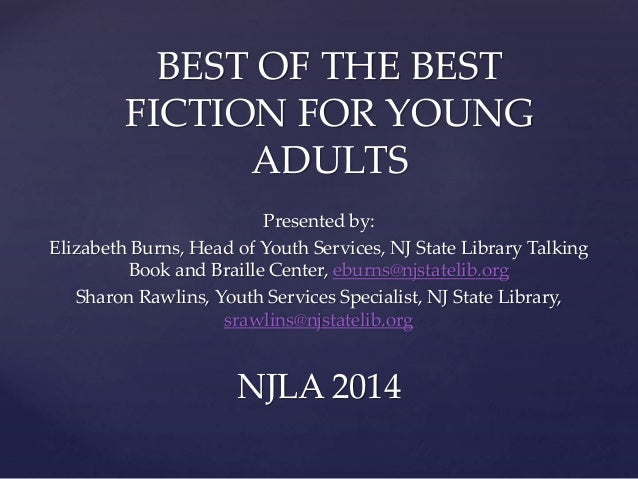 2014 NJLA Conference Best of the Best Fiction for Young Adults