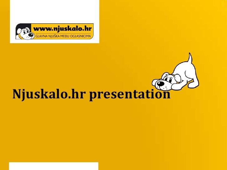 Njuskalo.hr presentation