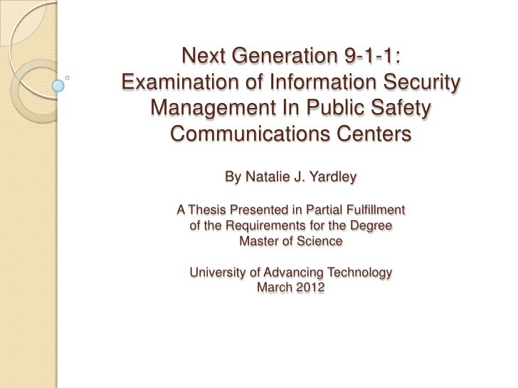 Graduation thesis defense