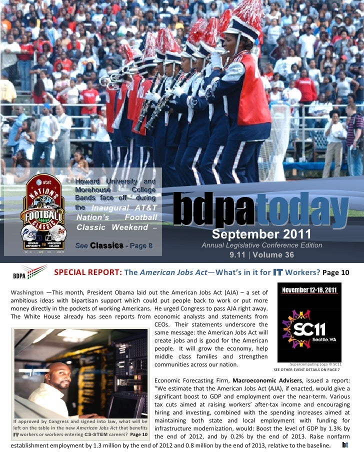 Newsletter: BDPA Washington DC (Sep 2011)