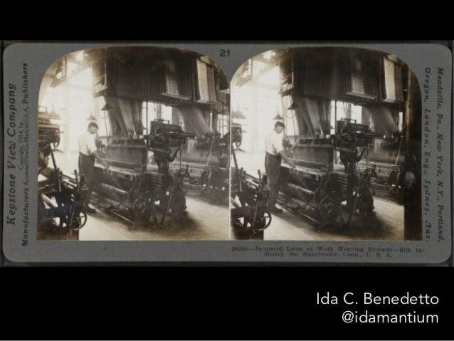 Ida C. Benedetto @idamantium