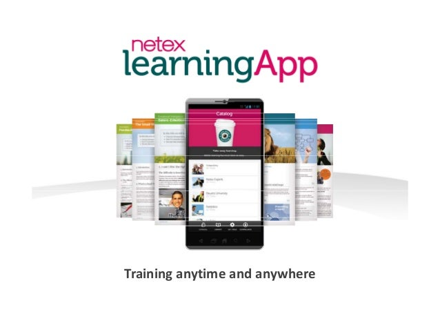 Netex learningApp | Presentation [EN]
