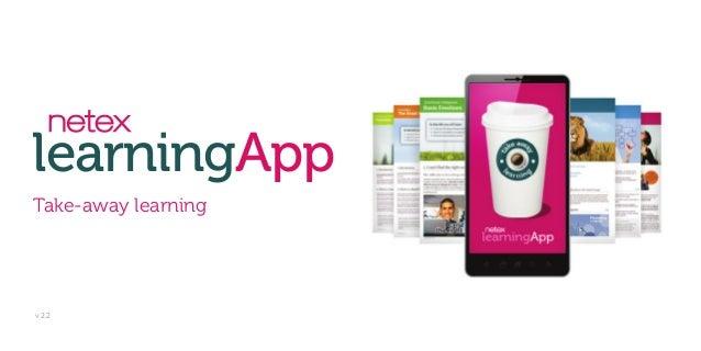 learningApp Take-away learning v 2.2