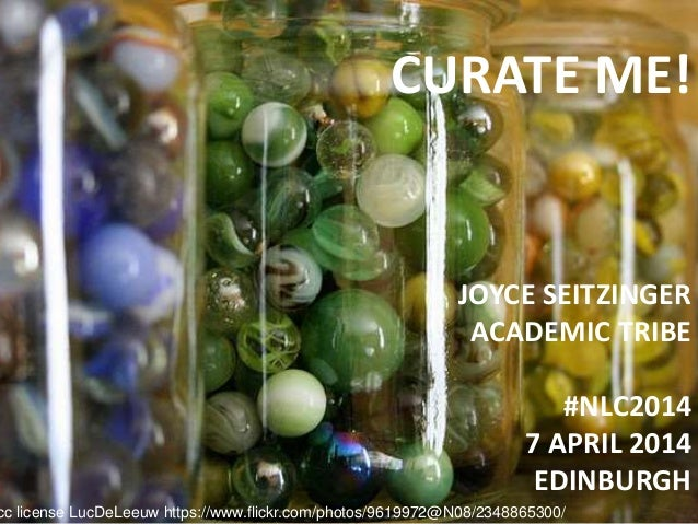 Curate Me! Exploring online identity through social #curation in networked learning