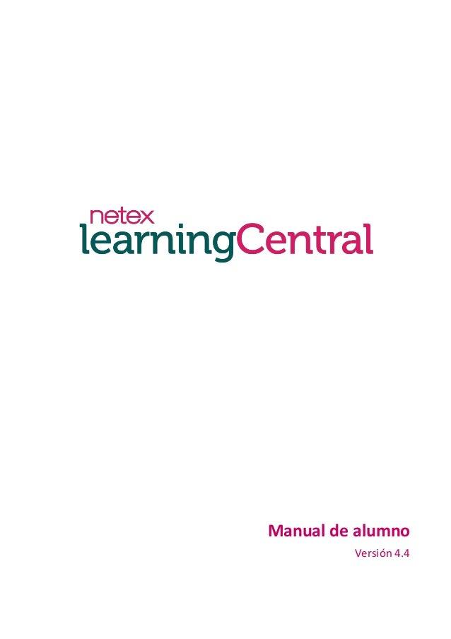 Manual de alumno Versión 4.4