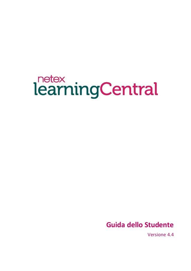 Guida dello Studente Versione 4.4