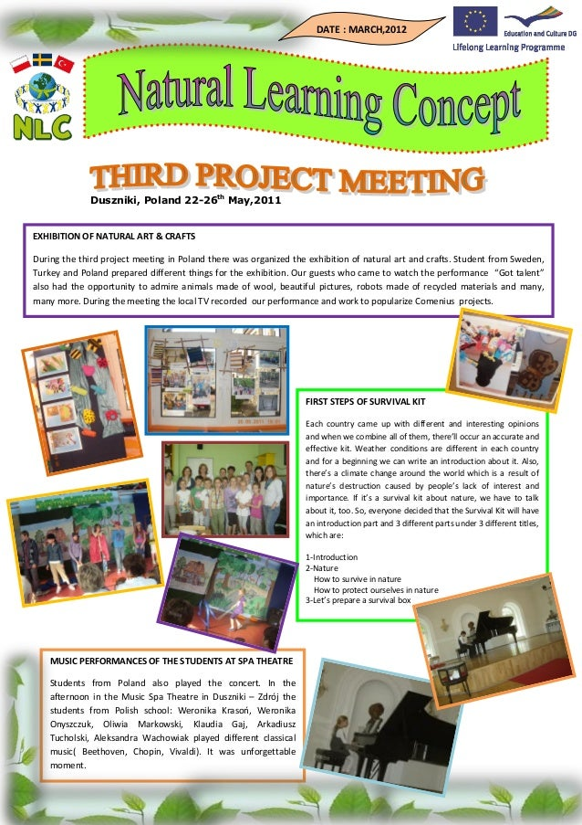 NLC Newsletter - March 2012
