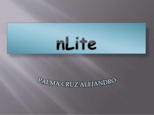  nLite le permite a los usuarios personalizar los componentes de su disco de instalación de Windows y el proceso de insta...