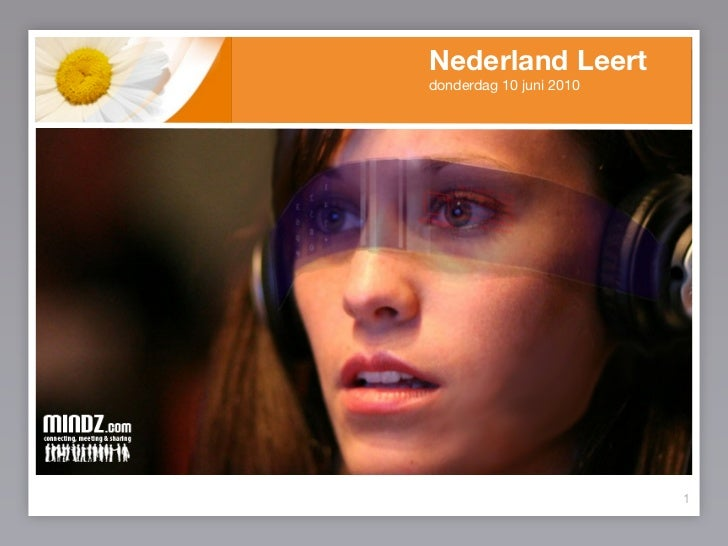 Nederland Leert donderdag 10 juni 2010                              1
