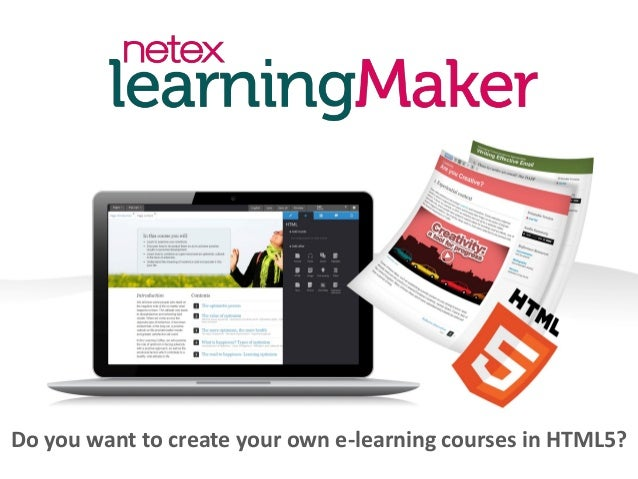 Do you want to create your own e-learning courses in HTML5?