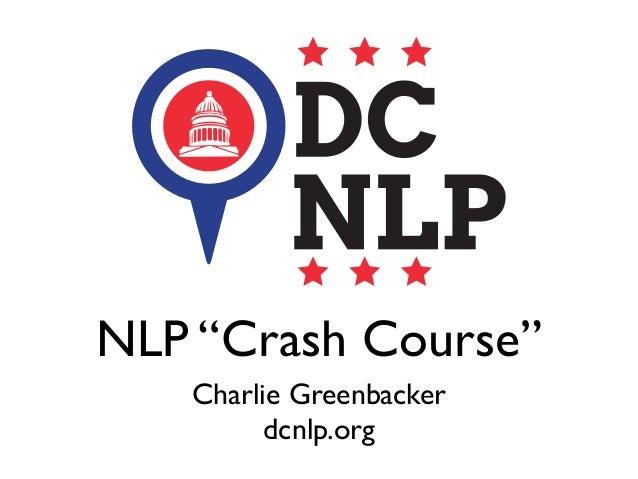 Natural Language Processing Crash Course