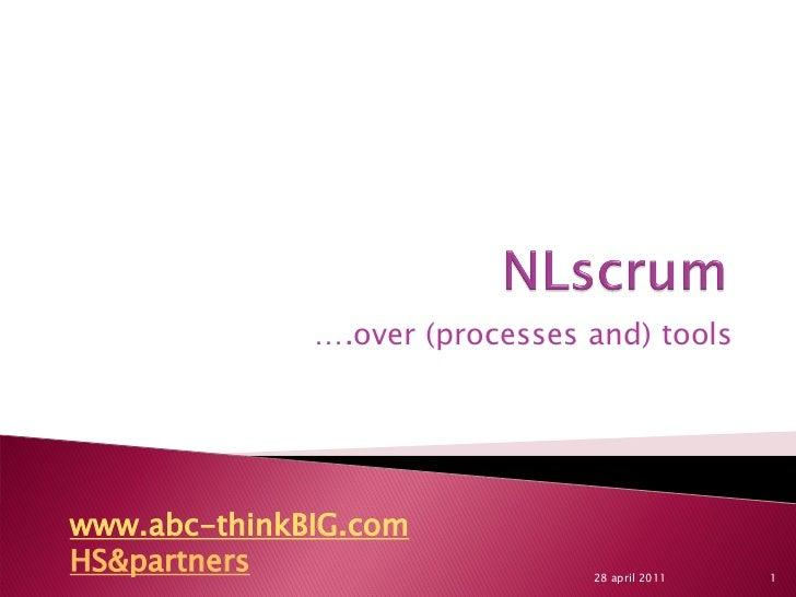 N lscrum toolsculturevisualization