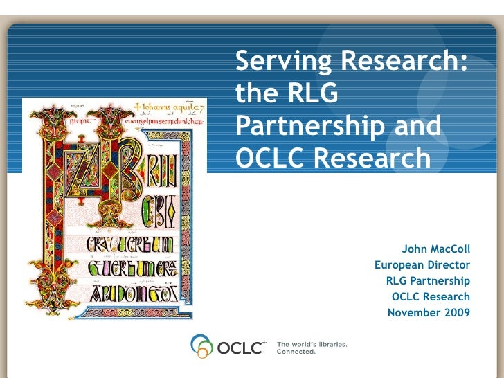 OCLC Research - National Library of Sweden