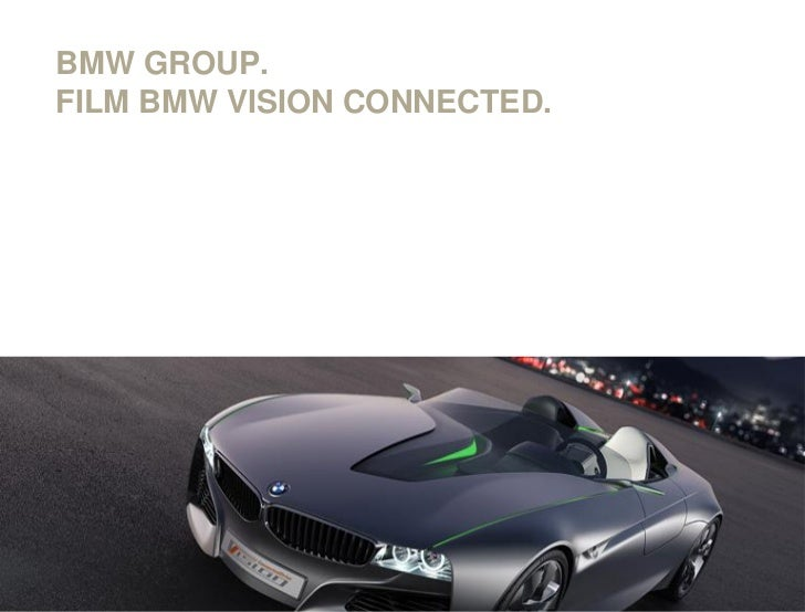 BMW GROUP.FILM BMW VISION CONNECTED.