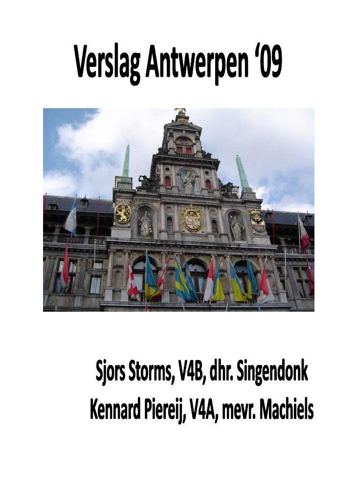 Nl Verslag Antwerpen
