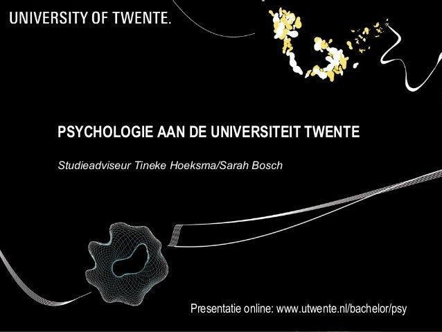 Open Dag - Psychologie