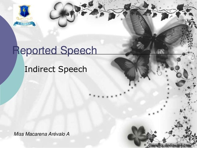 Nm2   reported speech extended