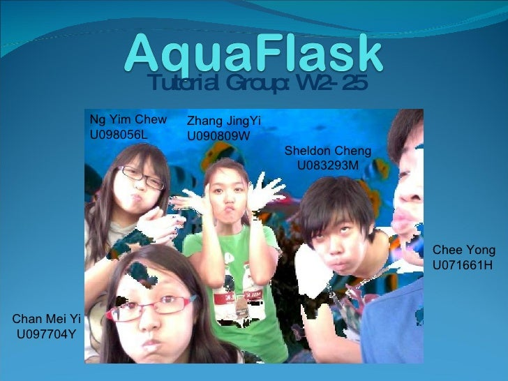 AquaFlask presentation (No animations)