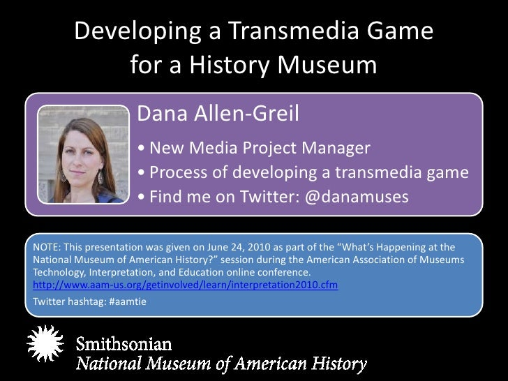 Developing a Transmedia Game for a History Museum<br />