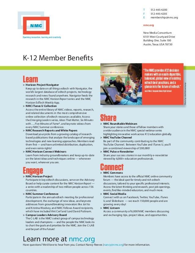 Nmc k12-member-benefits