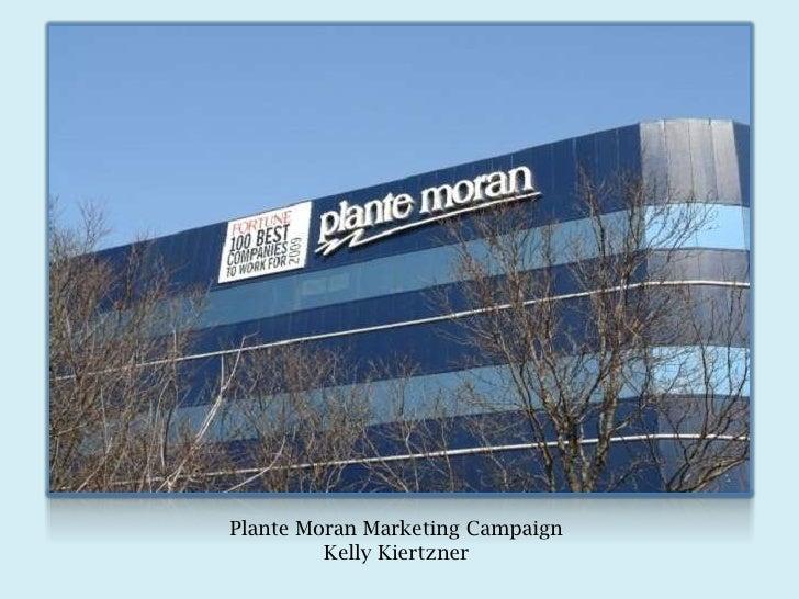 Plante Moran Marketing Strategy