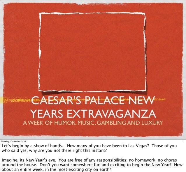 New Years in Las Vegas- Social Media Campaign