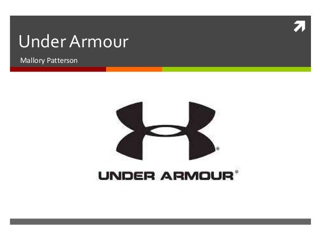 Under Armour Mallory Patterson  