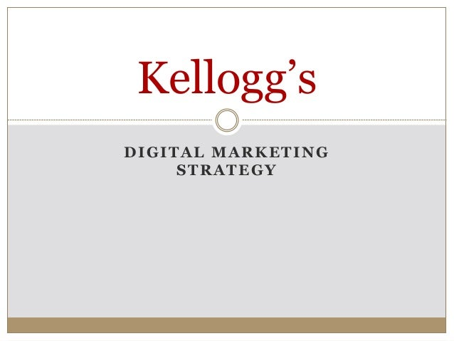 kelloggs special k marketing evaluation With this product (special k), kellogg's challenged the consumers to lose 25 kgs in just two weeks to encourage the household adults to consume, they produced adverts with adults featuring in it (excerpts from the case study 6 & 7).