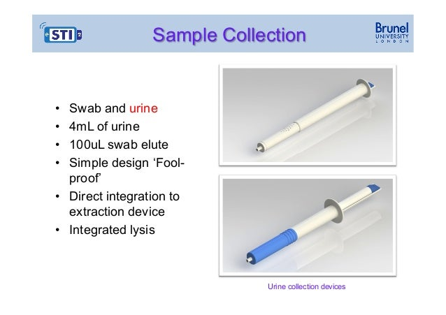 Swab Collection Devices Sample Collection • • • • Swab