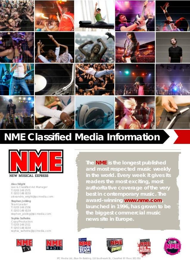 Nme media pack