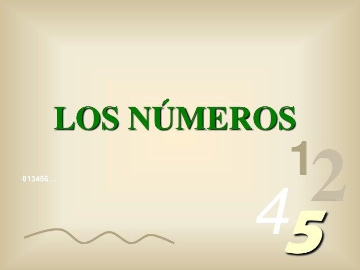 LOS NÚMEROS                1013456…              45                2