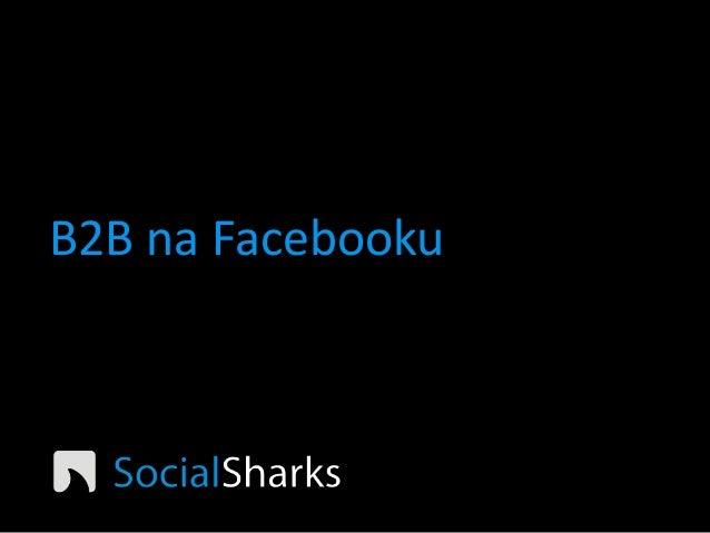 NMI14 Petr Andrýsek - B2B na Facebooku funguje a prodává!