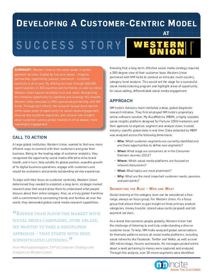 NM Incite Success Story - Western Union