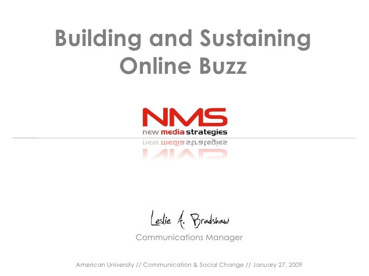 How to Build and Sustain Buzz Online