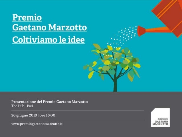 Start-up, Presentazione Premio Marzotto @ The Hub Bari