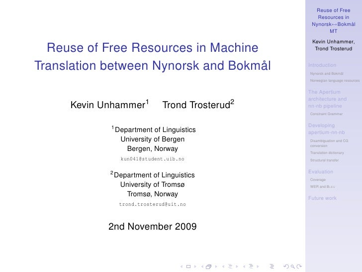 Reuse of Free                                                      Resources in                                           ...